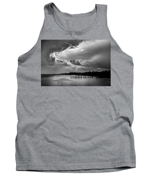 Tank Top featuring the photograph Provincetown Storm by Charles Harden