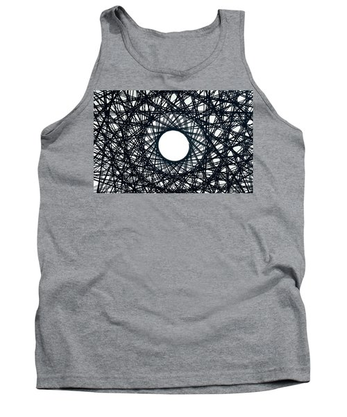 Psychedelic Concentric Circle Tank Top