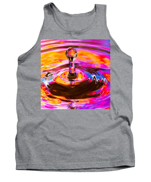 Psychedelic Water Drop Tank Top