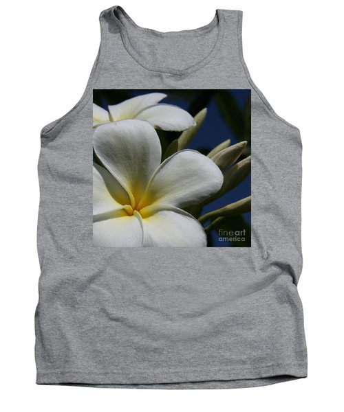 Pua Lena Pua Lei Aloha Tropical Plumeria Maui Hawaii Tank Top
