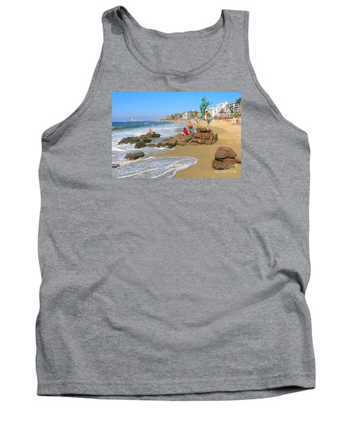 Puerto Vallarta Beachfront Tank Top