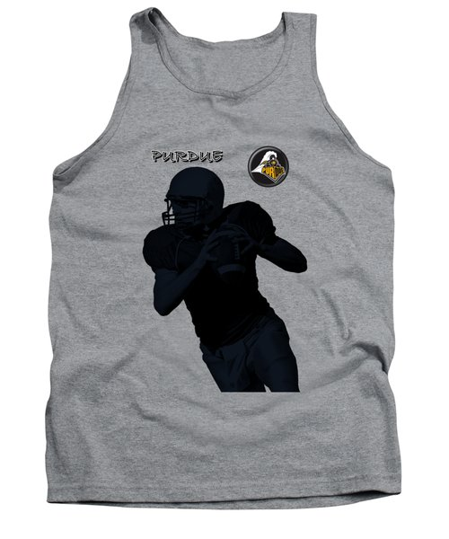 Purdue Football Tank Top