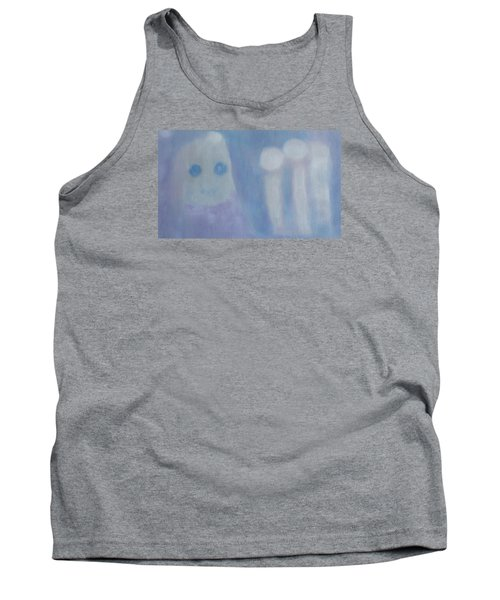Pure Art As A Child, Smiling For Real Art Lovers Tank Top by Min Zou