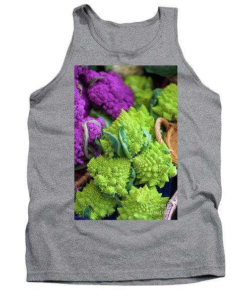 Purple And Romanesco Cauliflower Tank Top