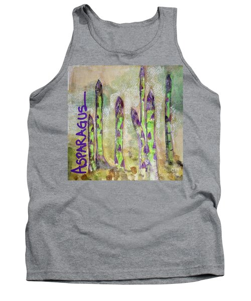 Purple Asparagus Tank Top