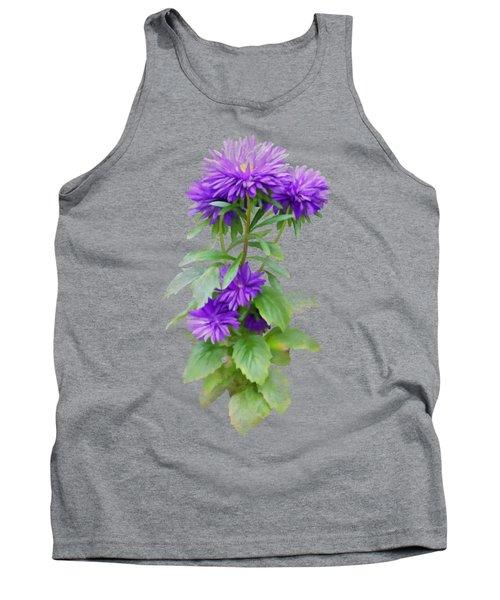 Purple Aster Tank Top