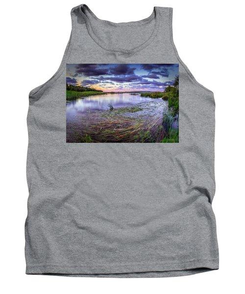 Purple Bay Tank Top