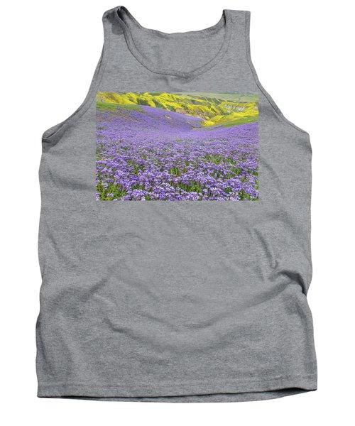 Purple  Covered Hillside Tank Top