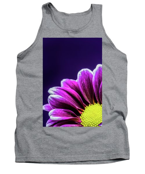 Purple Daisy Being Shy Tank Top