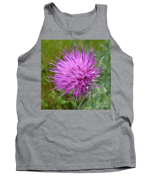 Purple Dandelions 2 Tank Top