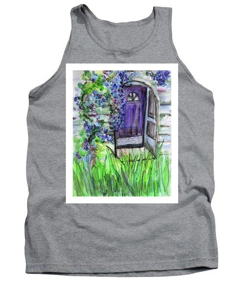 Purple Doorway Tank Top