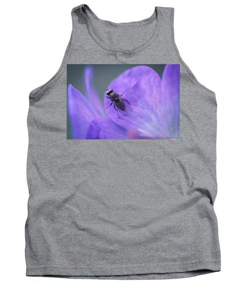 Purple Fly Tank Top
