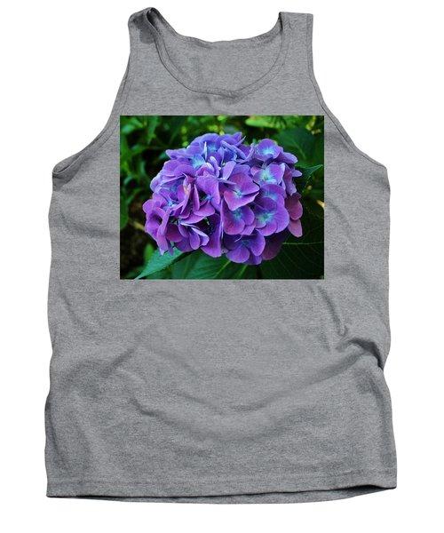 Purple Hydrangea Tank Top