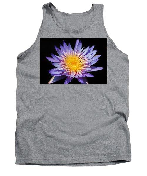 Purple Lotus Tank Top