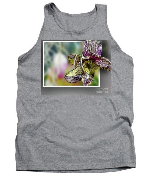 Purple Orchid Pop Tank Top
