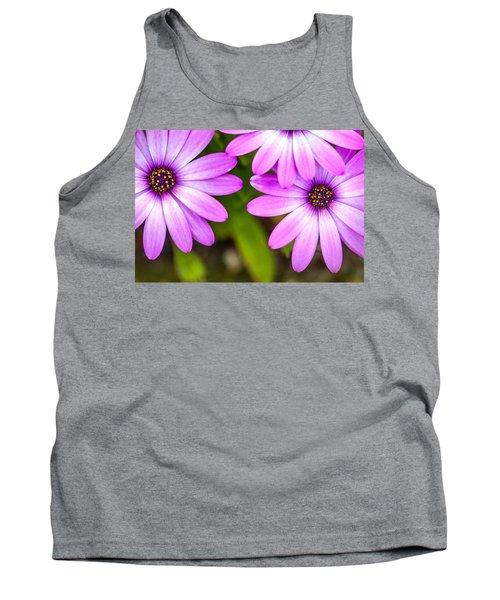 Purple Petals Tank Top
