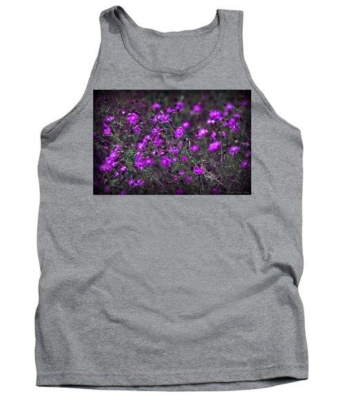 Purple Stars Tank Top