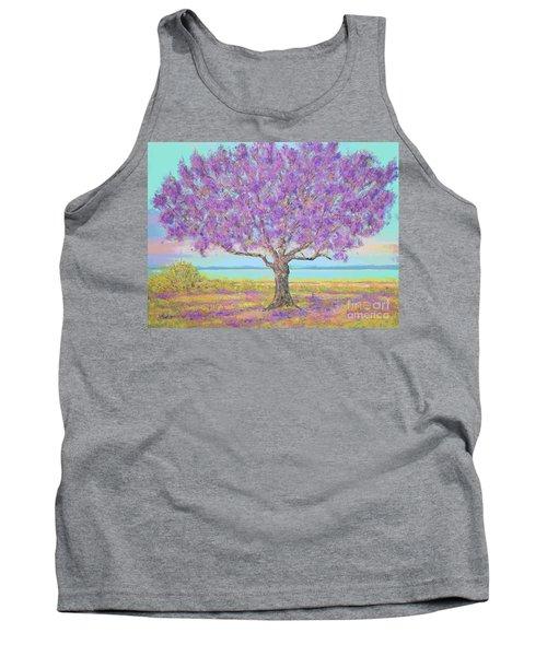 Purple Tree Tank Top