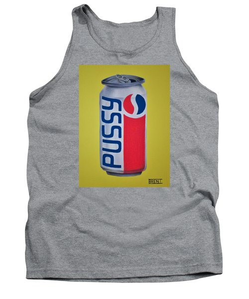 Pussy Pop Can Tank Top