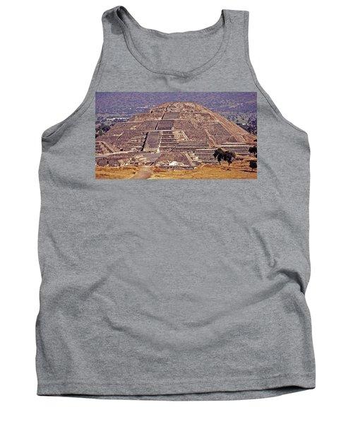 Pyramid Of The Sun - Teotihuacan Tank Top