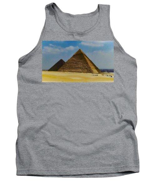 Pyramids, Cairo, Egypt Tank Top