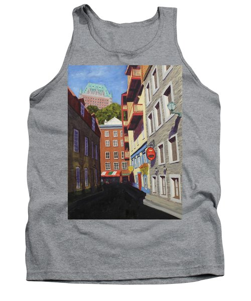 Quebec City Side Street Tank Top