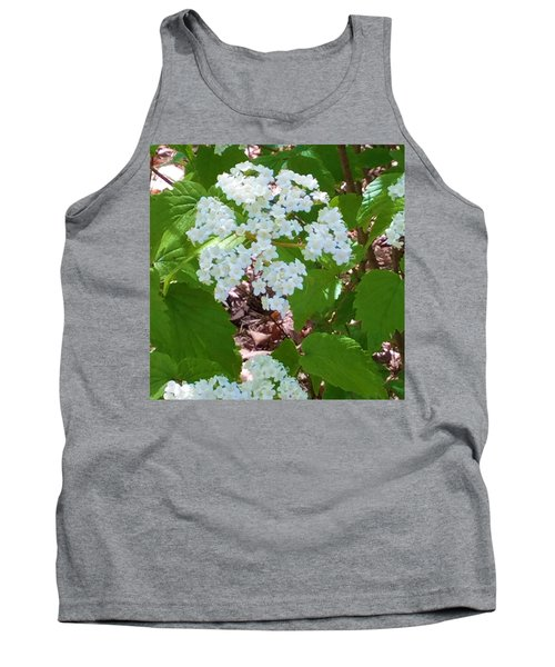 Queen Anne's Lace Tank Top by Kay Gilley