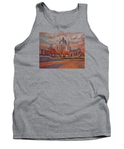 Queen Emma Square In Autumn Colours Tank Top by Nop Briex