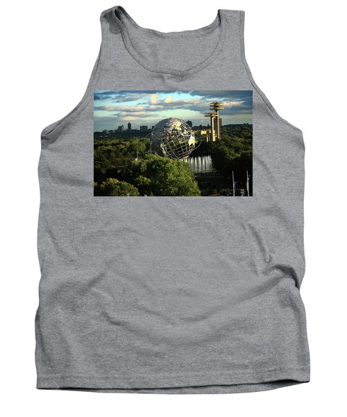 Queens New York City - Unisphere Tank Top