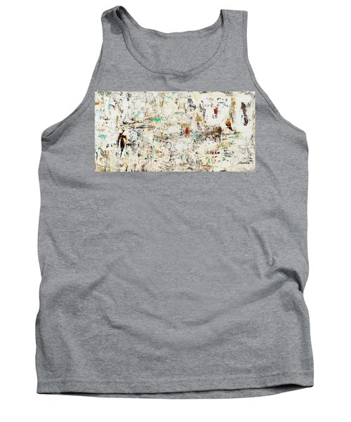 Tank Top featuring the painting Quest by Carmen Guedez