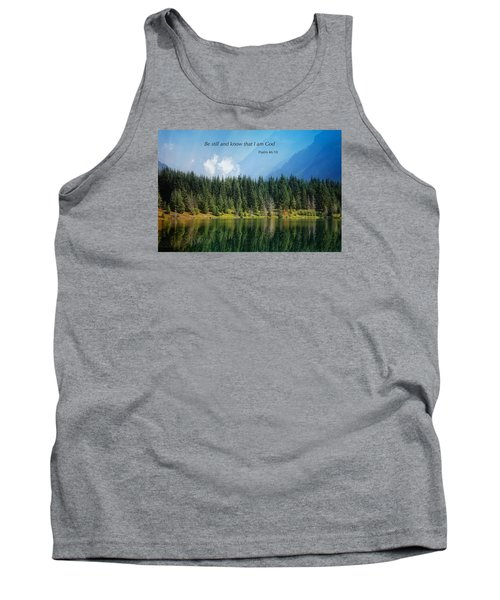 Tank Top featuring the photograph Quiet Reflections 2 by Lynn Hopwood