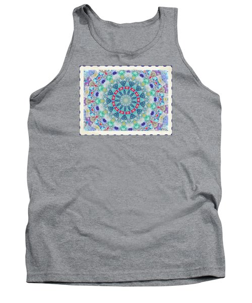 Quilted Color  Wheel Tank Top