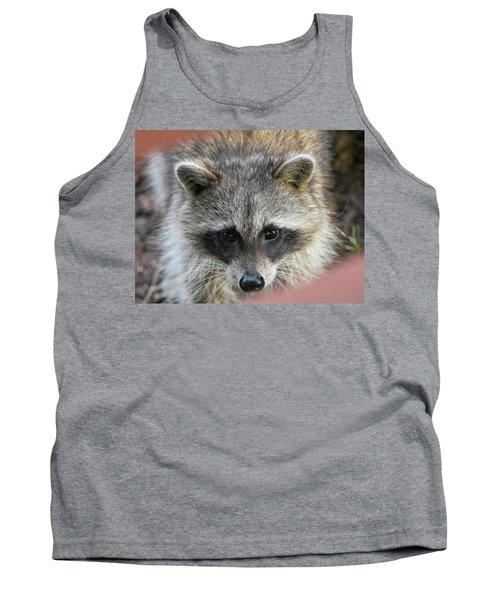 Raccoon's Gorgeous Face Tank Top