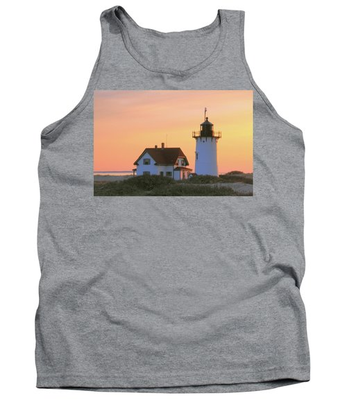 Tank Top featuring the photograph Race Point Light by Roupen  Baker