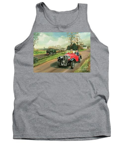 Racing The Train Tank Top