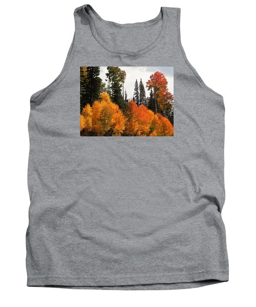 Radiant Autumnal Forest Tank Top