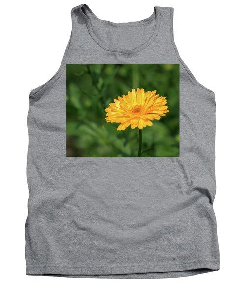 Radiant Summer Flower Soaking It Up Tank Top