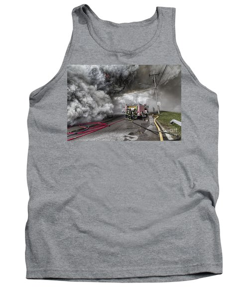 Tank Top featuring the photograph Raging Inferno by Jim Lepard