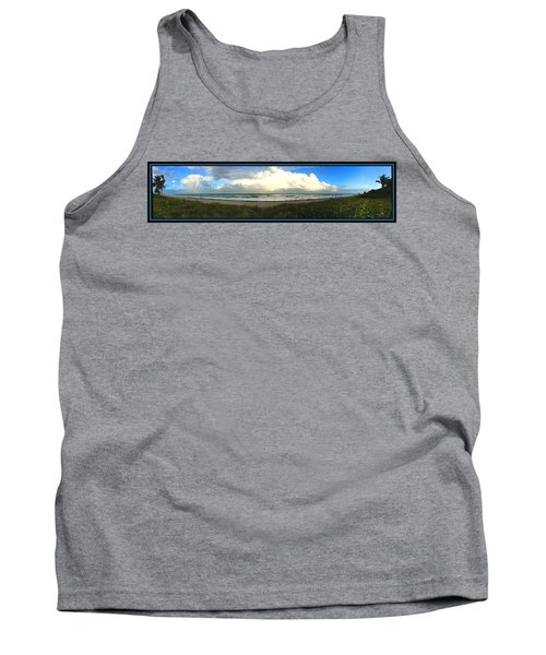 Rain And A Bow Tank Top by Steven Lebron Langston