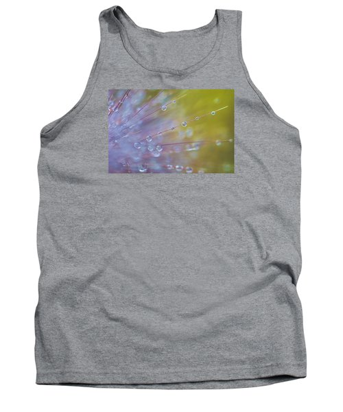 Rain Drops - 9753 Tank Top by G L Sarti