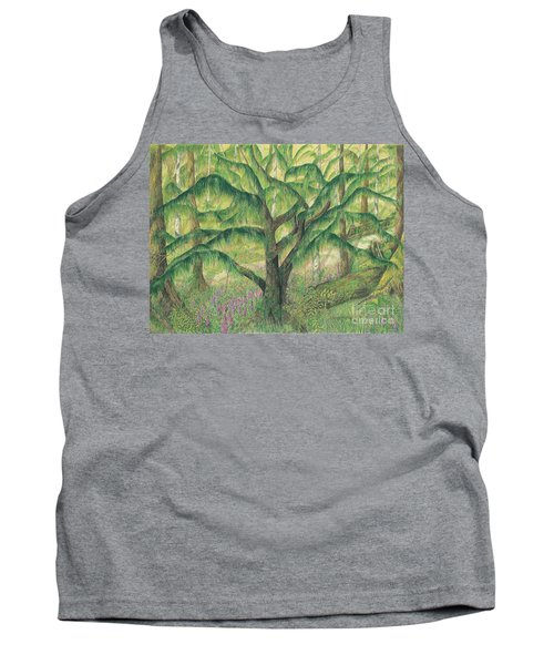 Rain Forest Washington State Tank Top