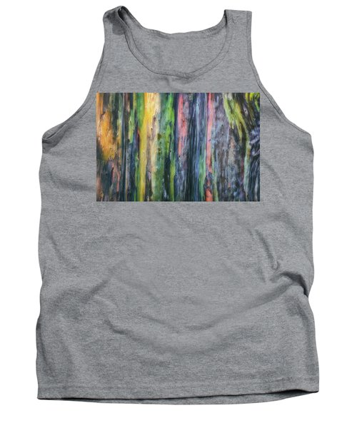 Tank Top featuring the photograph Rainbow Forest by Ryan Manuel