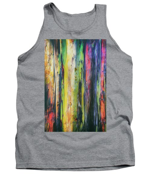 Tank Top featuring the photograph Rainbow Grove by Ryan Manuel