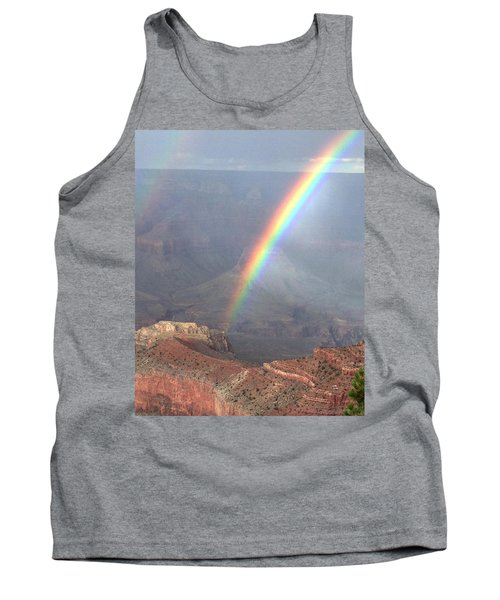 Rainbow Meets Mather Point Tank Top