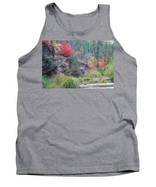 Rainbow Of The Season With River Tank Top