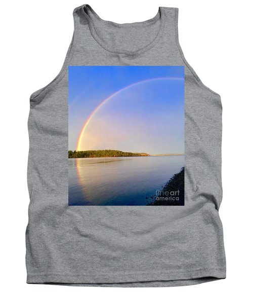 Rainbow Reflection Tank Top by Sean Griffin