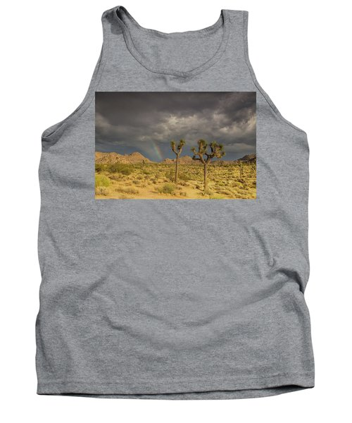 Rainbows Thunderstorms And Sunsets Tank Top