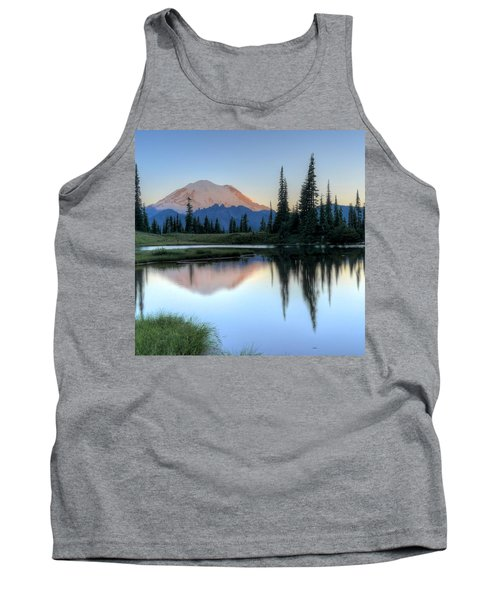 Rainier From Tipsoo Tank Top by Peter Mooyman