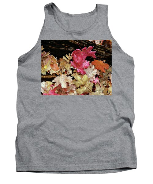 Rainy Day Leaves Tank Top