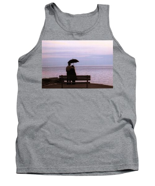 Tank Top featuring the photograph Rainy-may In Color by John Scates